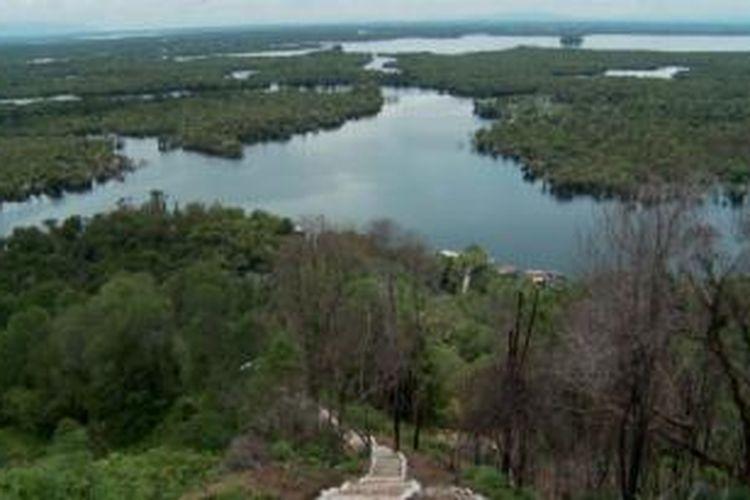 Panorama Danau Sentarum di Kalimantan Barat