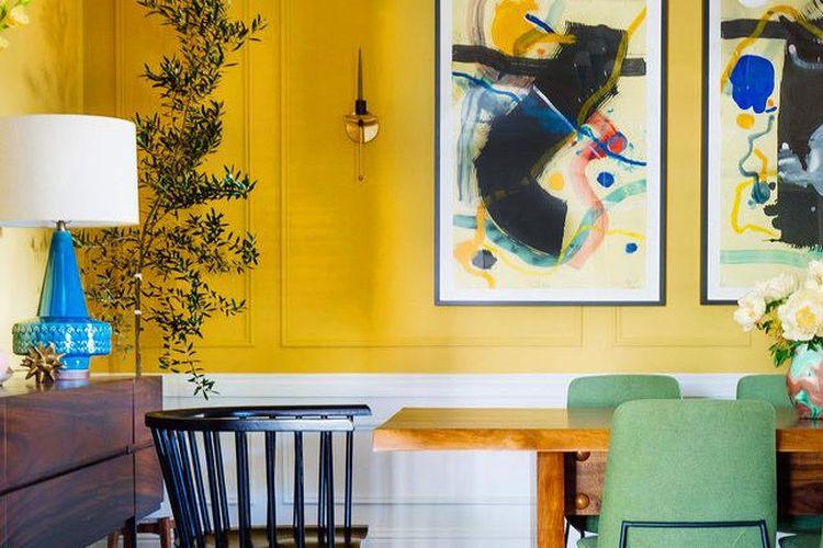3 Cara Masukkan Warna Cerah Pada Desain Rumah