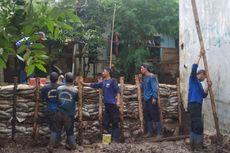 Atasi Tanggul Jebol di Jatipadang, Turap Permanen Mulai Dibangun