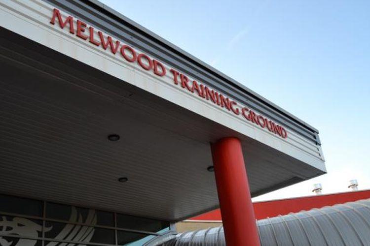 Tempat latihan Liverpool FC di Melwood.