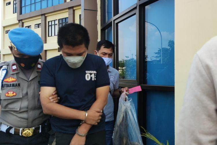 IM, pelaku pembunuh perempuan yang mayatnya membusuk di Cideng, Jakarta Pusat.