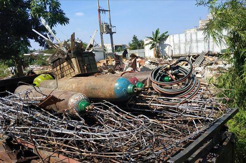 Pengepul Rongsokan yang Untung dan Buntung di Lokasi Gusuran Jatisampurna, Bekasi