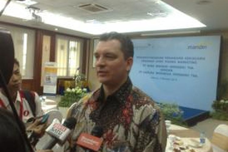 Direktur Pemasaran Garuda Indonesia Erik Meijer