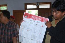 Surat Suara Tertukar Ada di 20 Provinsi
