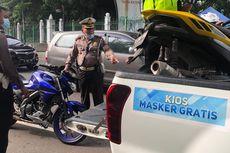 Buntut Biker Vs Paspampres, Ratusan Motor Terjaring Razia di Monas