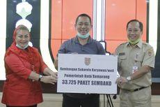 Distribusikan 200.000 Paket Sembako, Wali Kota Hendi Minta Camat dan Lurah Bangun Lumbung Kelurahan