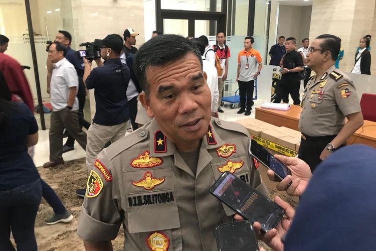 Direktur Tipideksus Bareskrim Brigjen (Pol) Daniel Tahi Monang, di Gedung Bareskrim, Jakarta Selatan, Kamis (30/1/2020).
