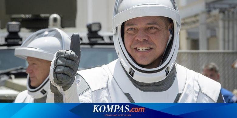 Dua Astronot NASA untuk Misi SpaceX Sudah Mendarat