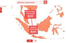 Prediksi Dirilis, Inilah Suhu 4 Kota Besar Indonesia pada Tahun 2100