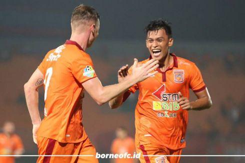 Duet Striker Borneo FC seperti Diego Costa dan Didier Drogba
