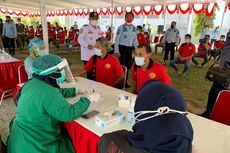 Pemkot Madiun Gelar Vaksinasi untuk 750 Narapidana