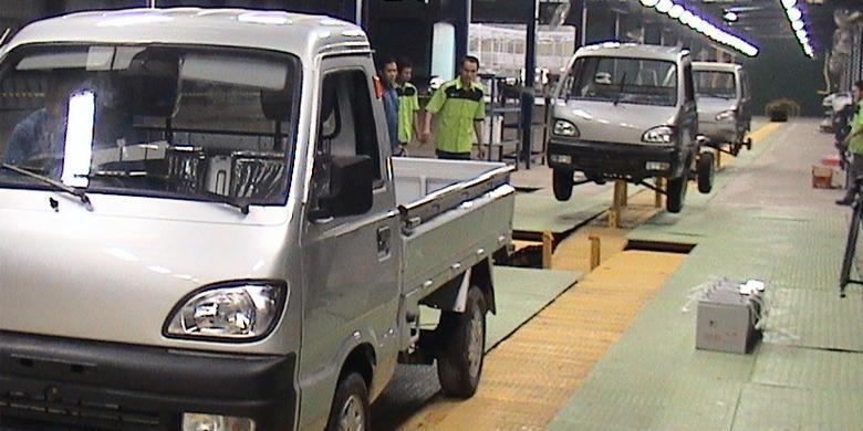 Pabrik mobil listrik PT Great Asia Link (Grain) di Surabaya, Jawa Timur, berkapasitas 80.000 unit per tahun. Grain adalah produsen mobil listrik merek nasional ELVI.
