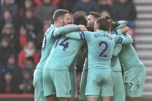 Bournemouth Vs Arsenal, Rekor Tak Terkalahkan The Gunners Bertambah