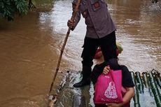 Jalan ke Bandara Syamsuddin Noor Banjarmasin Tergenang Banjir, Arus Lalu Lintas Dialihkan