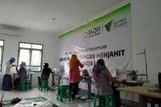 Tingkatkan Keahlian Menjahit Kaum Dhuafa Cirebon, Dompet Dhuafa Gelar Jabar Bagja