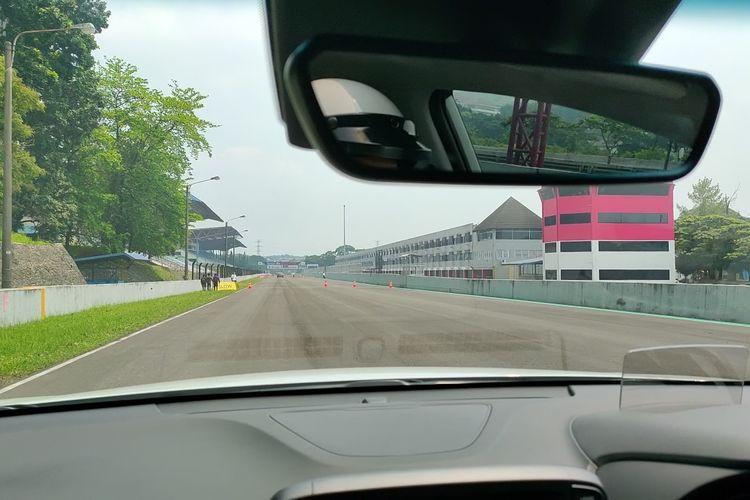 Suasana kabin selama Hyundai Track Day 2021