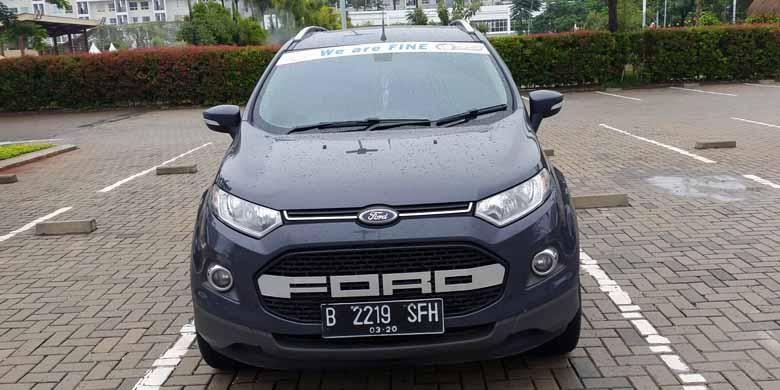 Tampilan EcoSport milik anggota Ford EcoSport Community (Forescom) dengan tulisan we are fine.