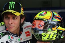 Helm Spesial Rossi untuk Uji Coba di Sepang