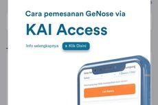 Pesan Layanan GeNose C19 Bisa Lewat KAI Access, Ini Caranya