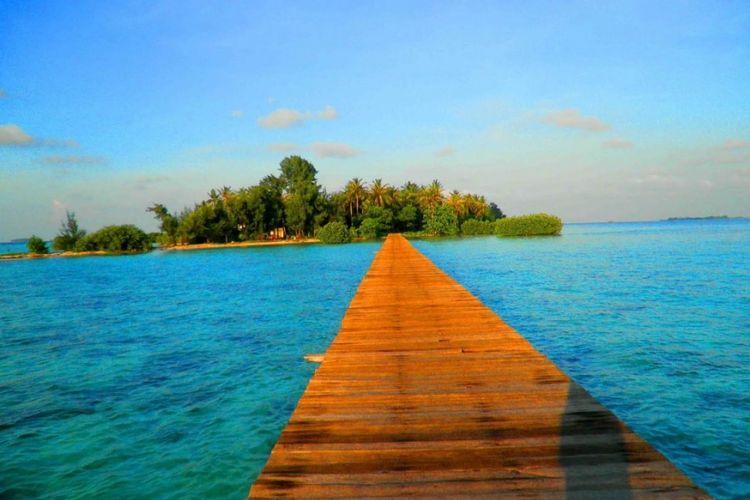 Tempat wisata di Banten - Pulau Cangkir.
