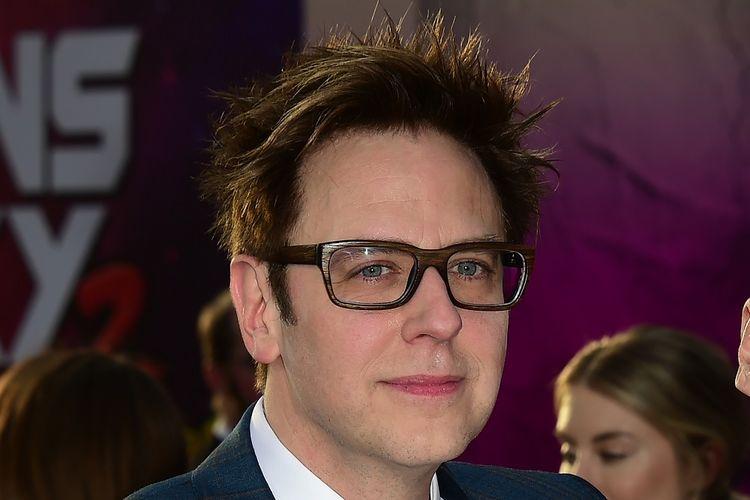 Sutradara James Gunn menghadiri pemutan perdana film Guardians of the Galaxy Vol. 2 di Hollywood, California, pada 19 April 2017. Gunn dipecat dari Guardians of the Galaxy 3 setelah serangkaian twit lamanya tentang hal-hal tabu muncul kembali.