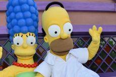 Takut Ditinggal Istrinya, Homer Simpson Pilih Hillary Clinton