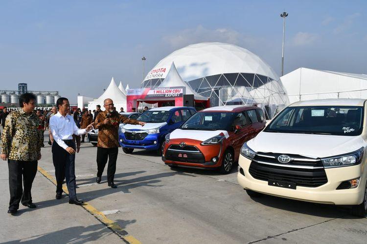 Ekspor Toyota Motor Manufacturing Indonesia