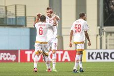 Babak I PSM Makassar Vs Kaya FC, Osas Saha Bawa Juku Eja Unggul