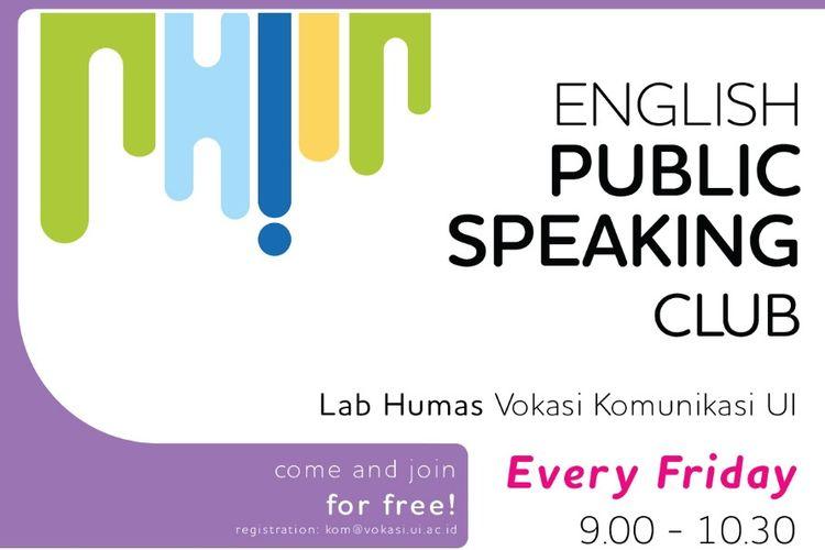 """Asik, Vokasi UI Luncurkan """"English Public Speaking"""" Gratis!"""