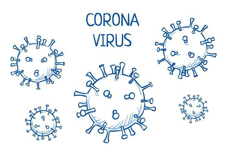 Ilustrasi virus corona, Covid-19. (Shutterstock)