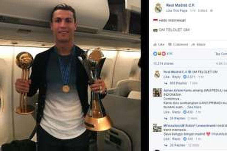 Real Madrid ikut larut dalam fenomena