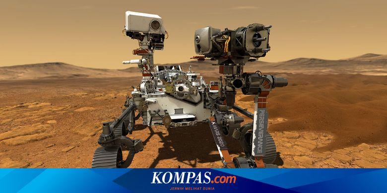 Penjelajah Mars Milik NASA Dilengkapi Alat Penguba