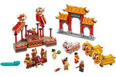 LEGO Sambut Imlek dengan Mainan Barongsai