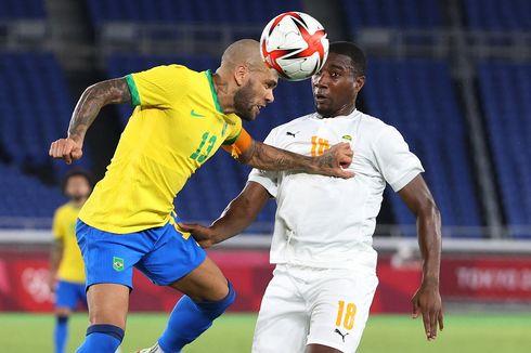 Profil Dani Alves, Bek Veteran yang Antar Brasil ke Final Olimpiade Tokyo 2020