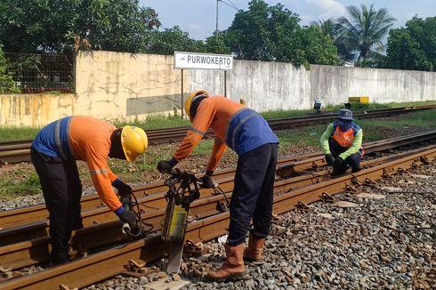 Waspada, 5 Titik Jalur Kereta Api di Daop 5 Rawan Bencana