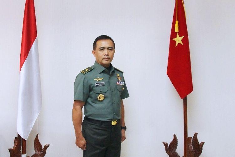 Potret Kepala Pusat Rehabilitasi Kementerian Pertahanan (Kemhan) Republik Indonesia (RI) Brigadir Jenderal (Brigjen) TNI dr. Nana Sarnadi.