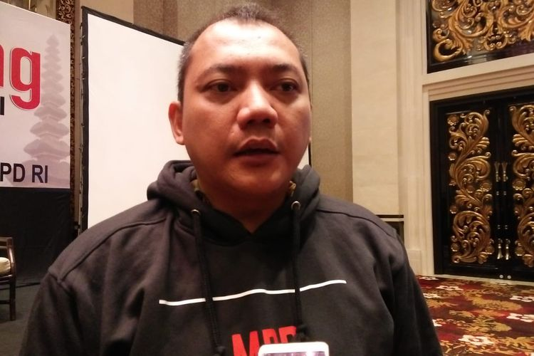 Ketua Fraksi Partai Nasdem Taufik Basari di Seminyak, Bali, Sabtu (16/11/2019)