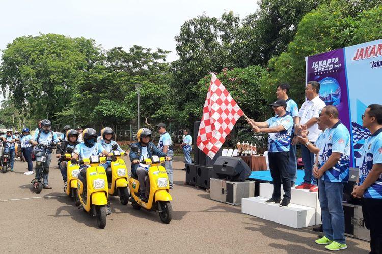 Rally Wisata 2019 diselenggarakan di Monumen Nasional, Jakarta, Minggu (22/12/2019) mulai pukul 09.00 WIB