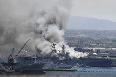 Kapal Perang AS Meledak Misterius, 21 Orang Luka-luka