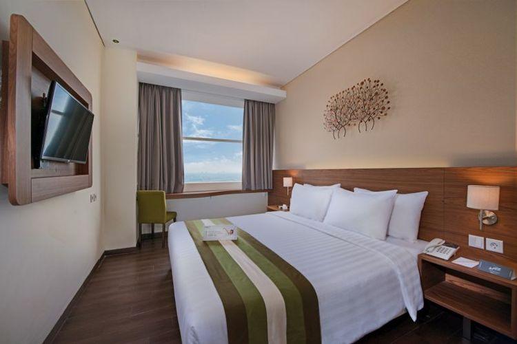 Salah satu kamar yang ada di Intiwhiz Hospitality Management.