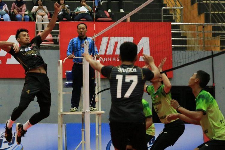 Universitas Trisakti (Usakti) Jakarta menjadi jawara alias pemuncak kejuaraan bola voli Liga Mahasiswa bertajuk  LIMA Volleyball: Air Mineral Prim-A Greater Jakarta Conference (GJC) Season 7.