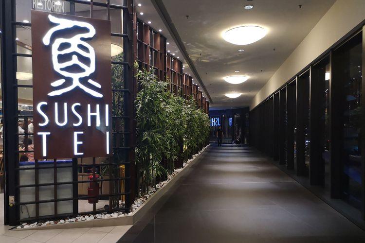 Ilustrasi Sushi Tei.