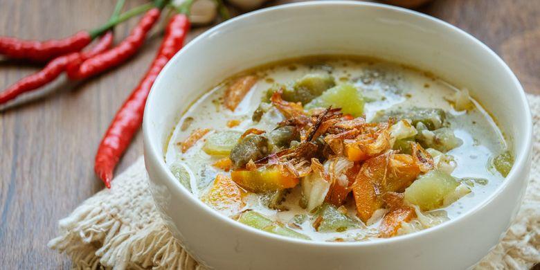 Resep Sayur Lodeh Jawa, Ide Masakan Berkuah Santan