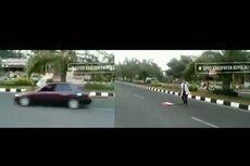 Viral Video Mahasiswa Demo dan Tertabrak Mobil di Boyolali, Ternyata Rekayasa...