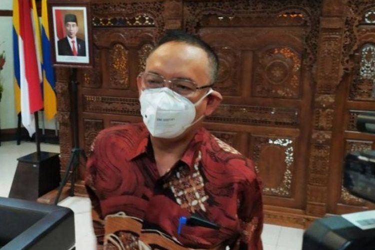 Rektor Universitas Airlangga (Unair) Surabaya Prof. Dr. Mohammad Nasih.