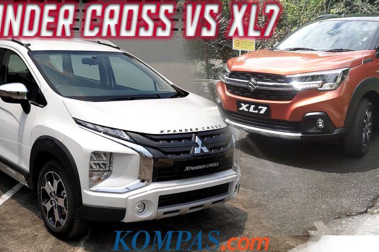 Dua model terbaru Xpander Cross dan XL7, bagaimana perbandingannya di atas kertas