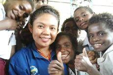 Kisah Guru di Pedalaman Papua, Ajarkan Pancasila dan Lagu Indonesia Raya