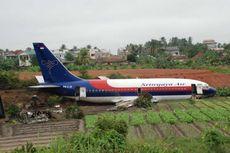 Hari Ini dalam Sejarah: Pesawat Sriwijaya Air Tabrak 3 Orang Petani Sayur di Jambi