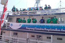 RS Terapung Unair Jelajahi Pulau Kecil di Sumenep, Ini Misi Mereka