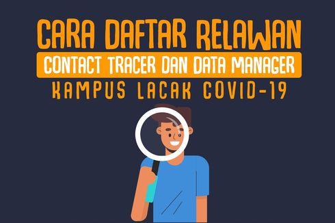 INFOGRAFIK: Cara Daftar Relawan Contact Tracer dan Data Manager Kampus Lacak Covid-19